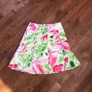 Floral skirt Size 6 Petite